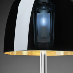 Lumiere 25 Bordslampa Large Aluminium