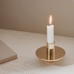 Antipode Candle Holder 02 Mässing