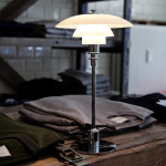 PH 2/1 Bordslampa Krom