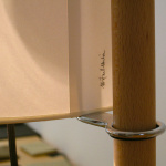 TMM Golvlampa Walnut/White