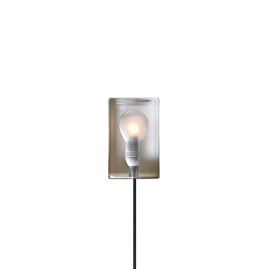 Block Lamp Bordslampa Svart