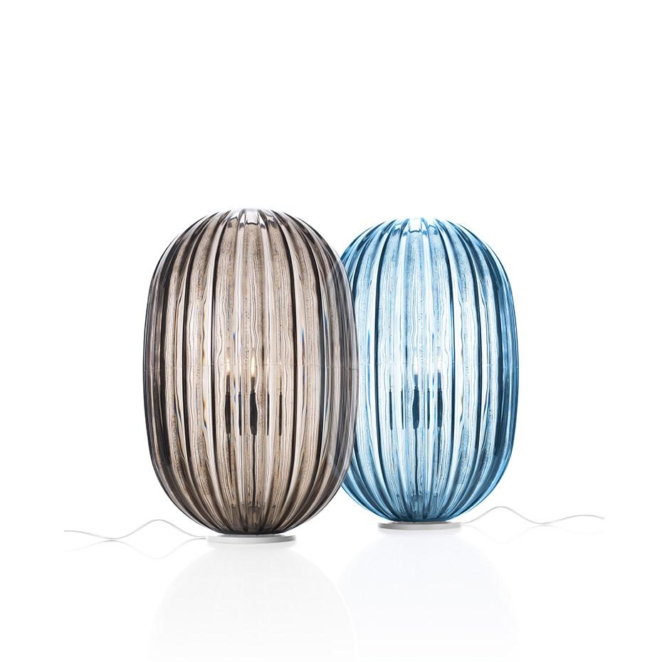Plass Bordslampa Medium Ljusblå