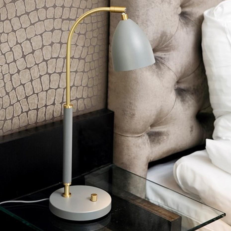 Deluxe LED Bordslampa SvartMässing
