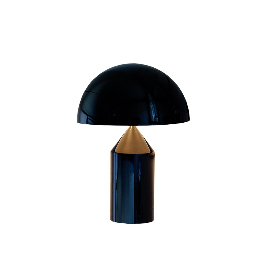 Atollo Bordslampa Medium Svart Oluce