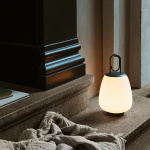 Lucca Bordslampa SC51 Portable Opal Glass & Moss Grey