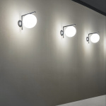 IC Lights C/W1 Outdoor Tak/Vägglampa Brushed Stainless Steel IP44