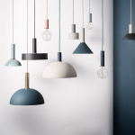 Collect Lampskärm Cone Light Grey