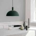 Collect Lampskärm Dome Dark Green