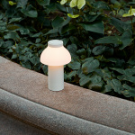 PC Portable Bordslampa Cream White